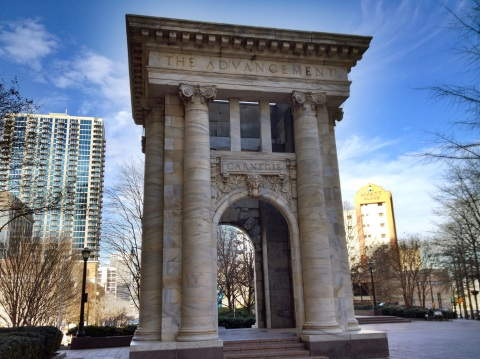 Carnegie Library Arch