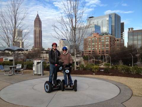 Segways and cityscapes!!!