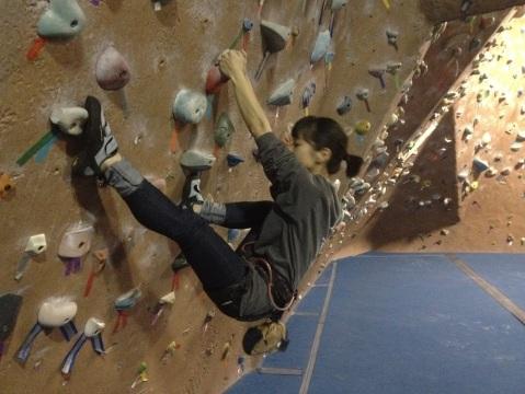 Jess Bouldering